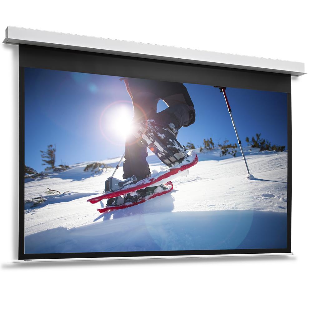 DescenderPro - Écrans de projection encastrés au plafond - Taille 117 cm x 200 cm (46,06 ``x 78,74``) - HDTV (16: 9) - blanc mat (non tendu)