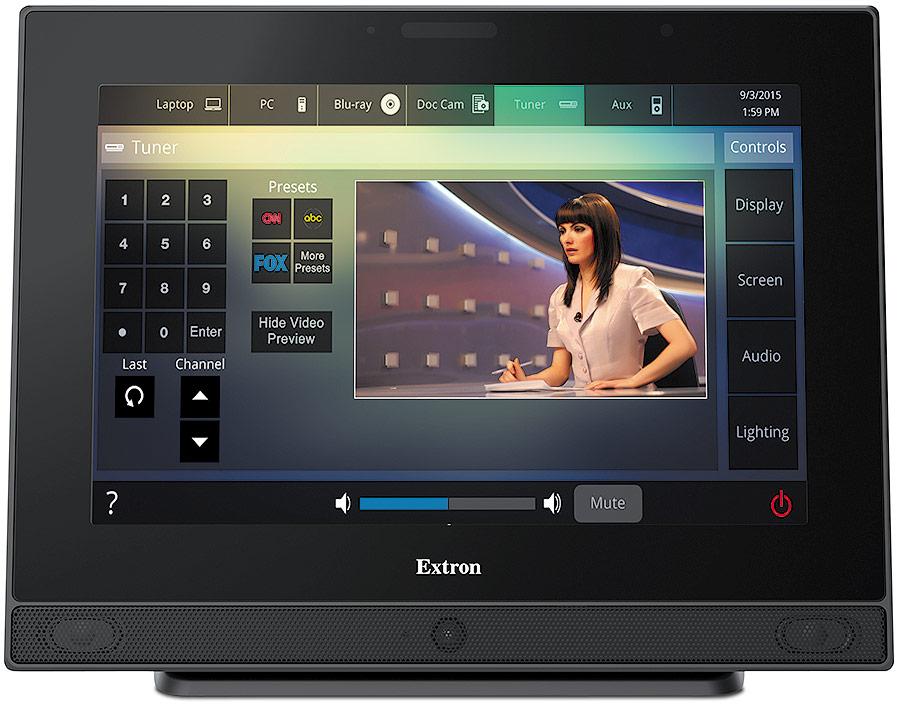 TLP Pro 1520MG - Écran tactile TouchLink Pro 15`` mural - Noir
