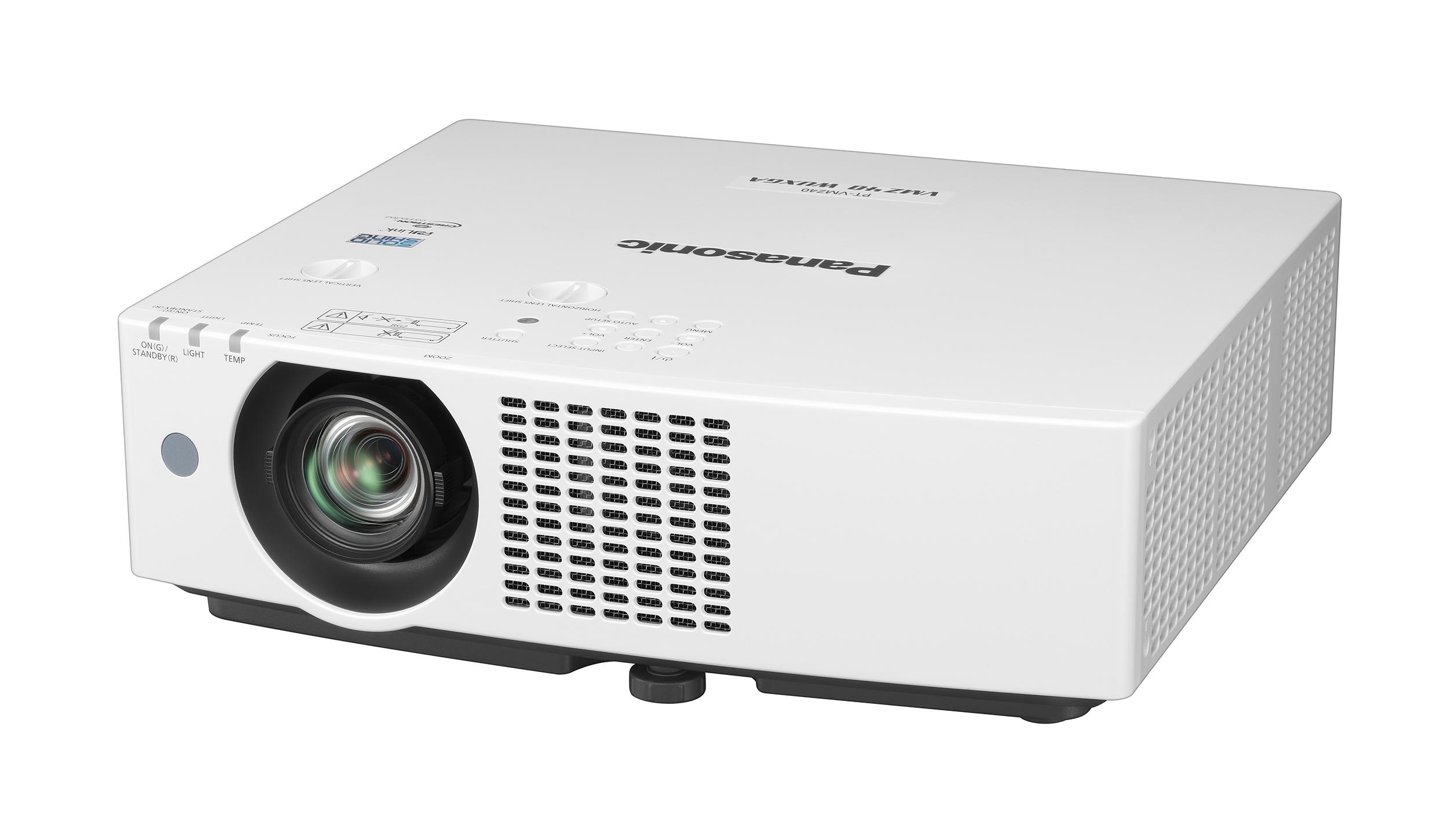 PANASONIC PANASONIC PT-VMZ40- Projecteur LCD, 4 500 lumens, WUXGA - Un rapport de projection de 1,09:1 - 4K