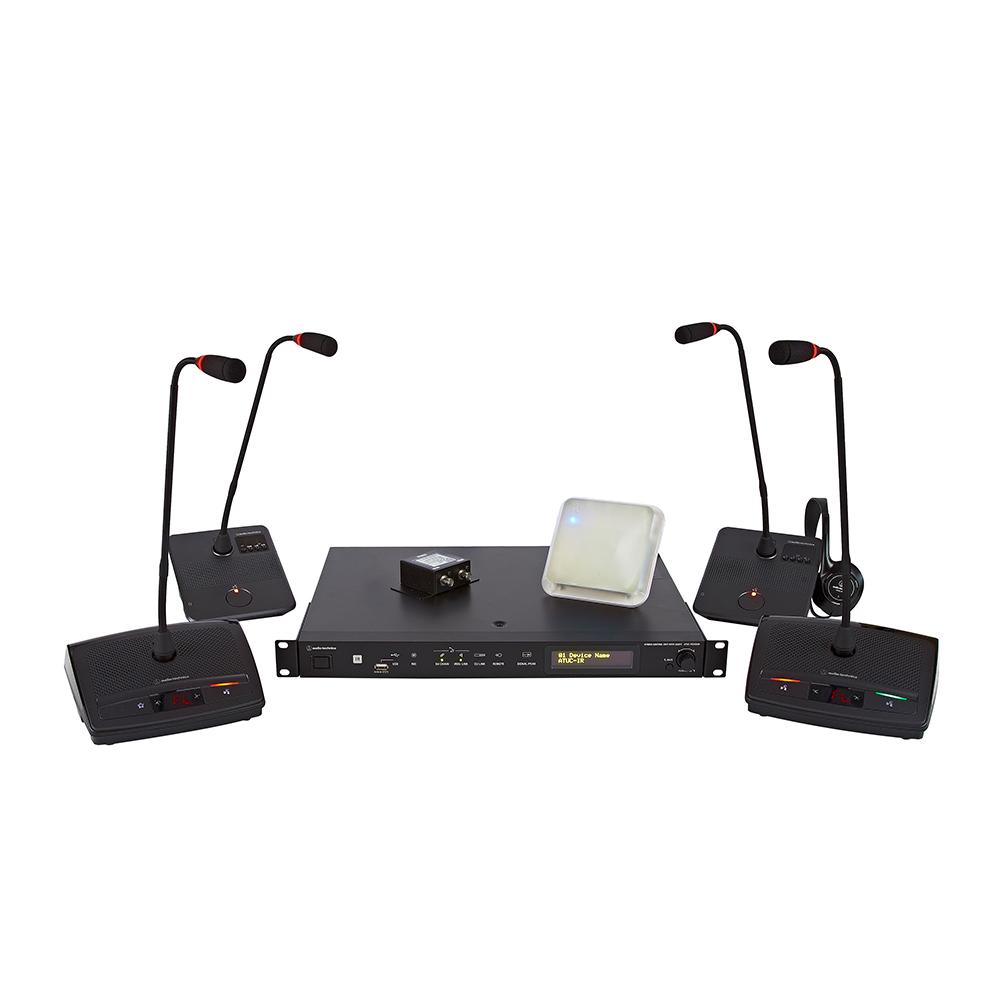 AUDIO-TECHNICA Audio Technica ATUC-IR - Système de conférence sans fil hybride infrarouge