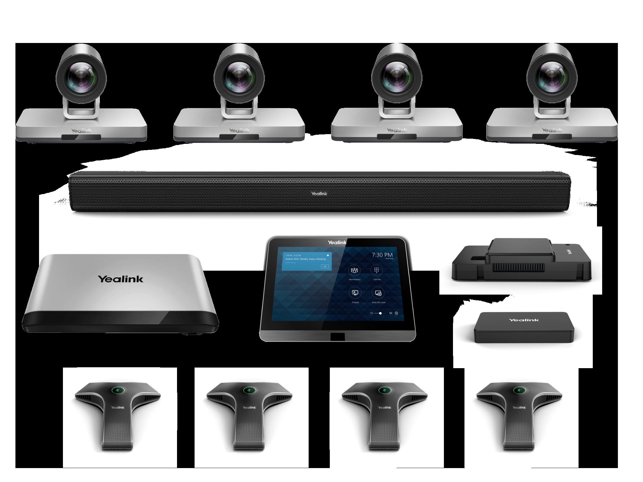 MVC900-4mics-2Cameras - Mini-PC, Mtouch, MShare, Camera Hub, 2 x UVC80, 4 x VCM34, Mspeaker, 2-year warranty