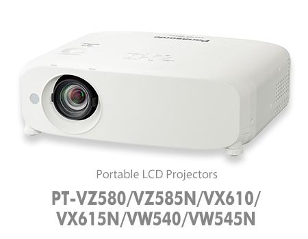 PANASONIC PANASONIC PT-VZ580 - Projecteur LCD, 5 000 lumens, WUXGA - 1920 x 1200 pixels