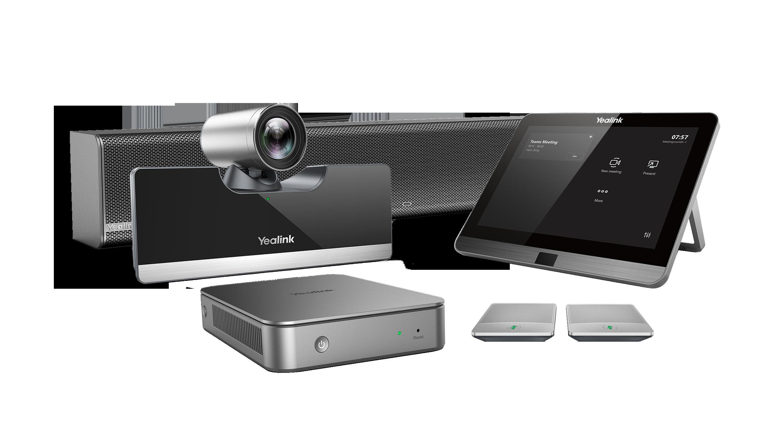 YEALINK Yealink MVC500 II Wireless - Système de visioconférence pour petites à moyennes salles - certifié Microsoft Teams
