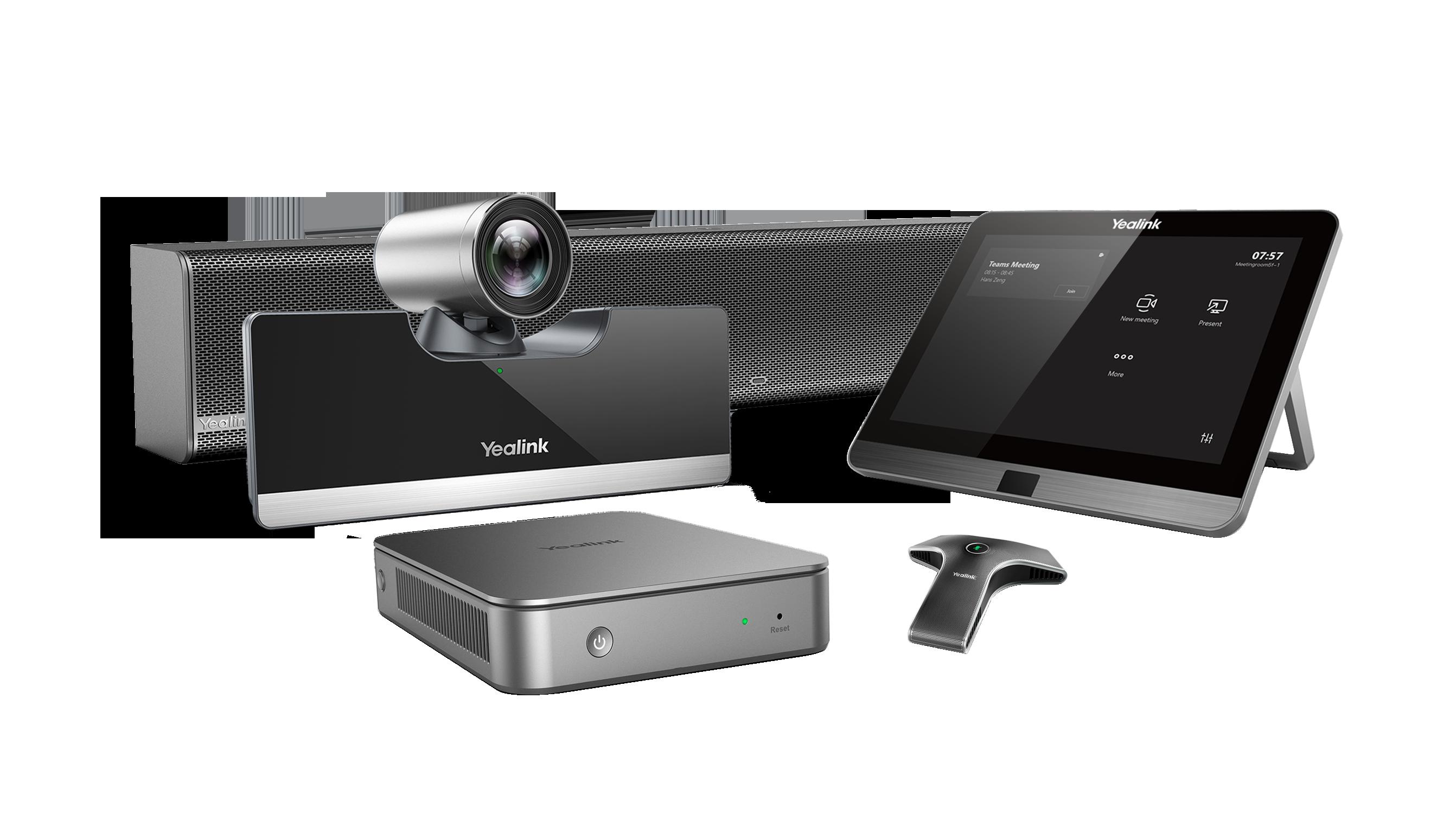 YEALINK Yealink MVC500 II Wired - Système de visioconférence pour petites à moyennes salles - certifié Microsoft Teams