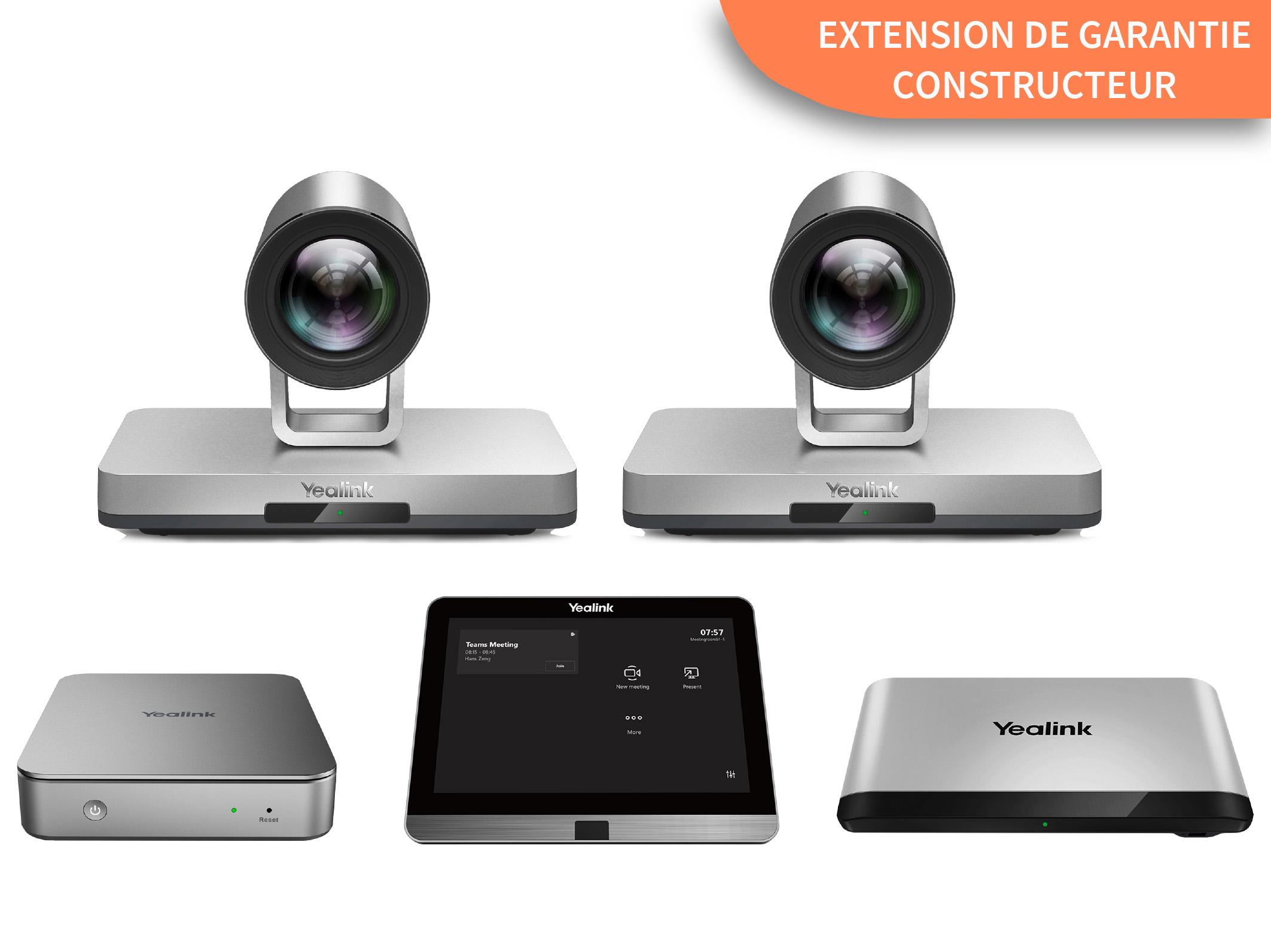 Extension de garantie Yealink à 3 ans (2+1) pour MVC900 II
