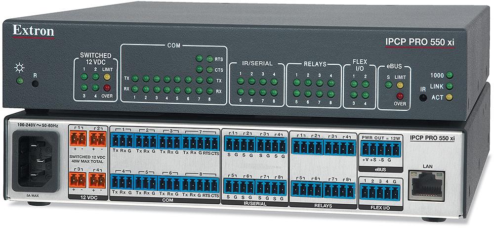EXTRON  Extron IPCP Pro 550 xi - Processeur de contrôle monocoeur IPCP Pro xi