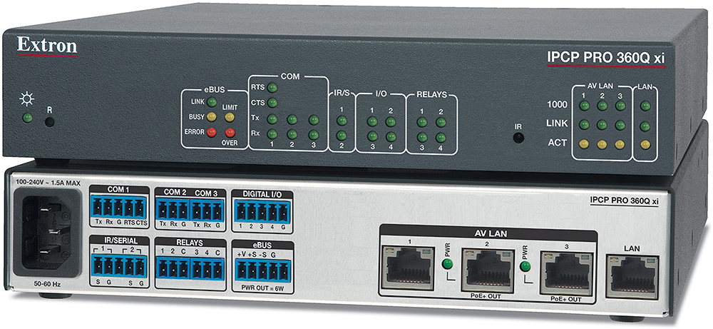 EXTRON  Extron IPCP Pro 360Q xi - Processeur de contrôle quadricoeur IPCP Pro xi