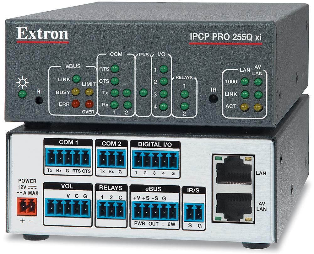 EXTRON  Extron IPCP Pro 255Q xi - Processeur de contrôle quadricoeur IPCP Pro xi