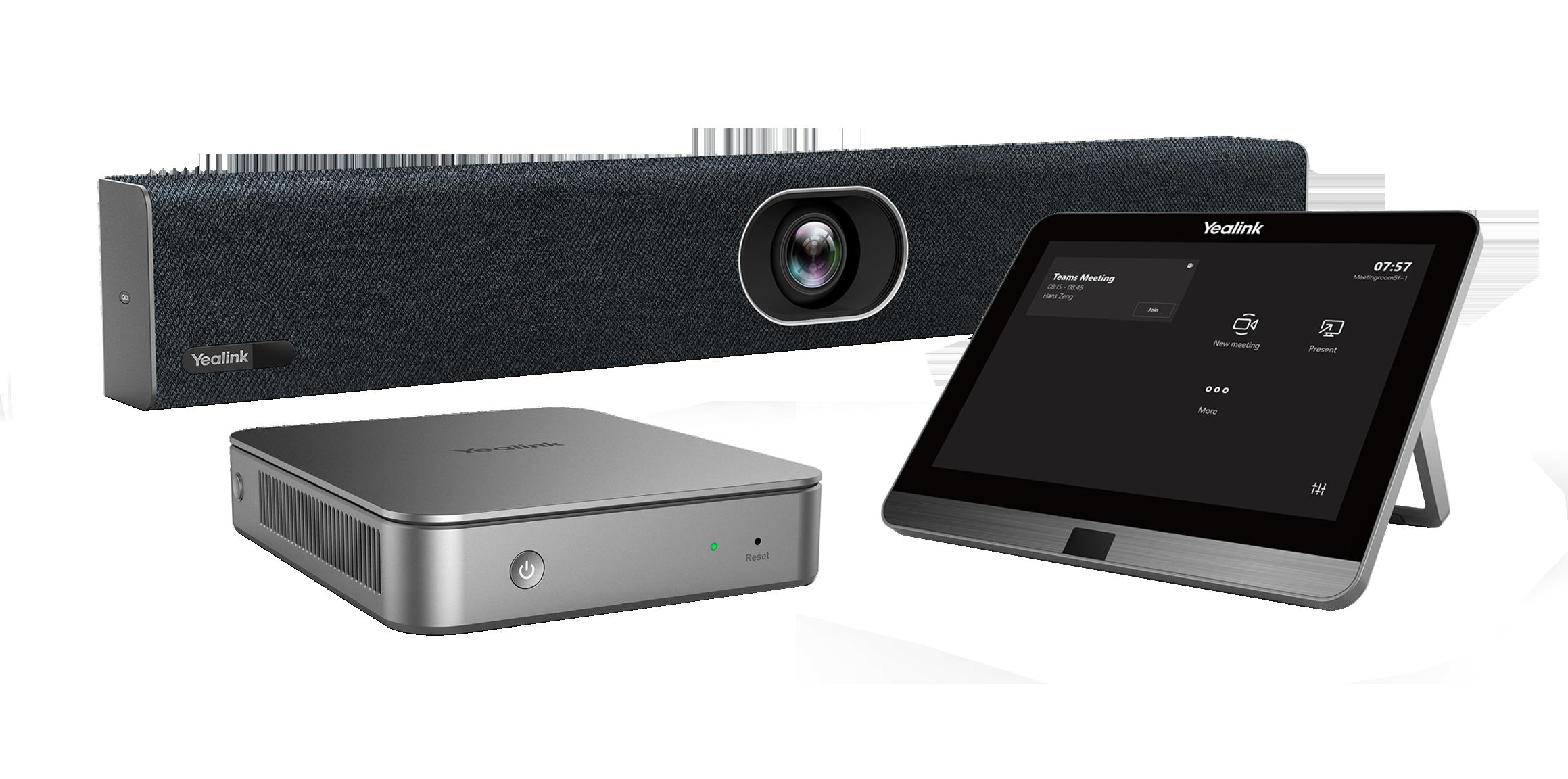YEALINK Yealink MVC400 - système de visioconférence pour petites salles - certifié Microsoft Teams
