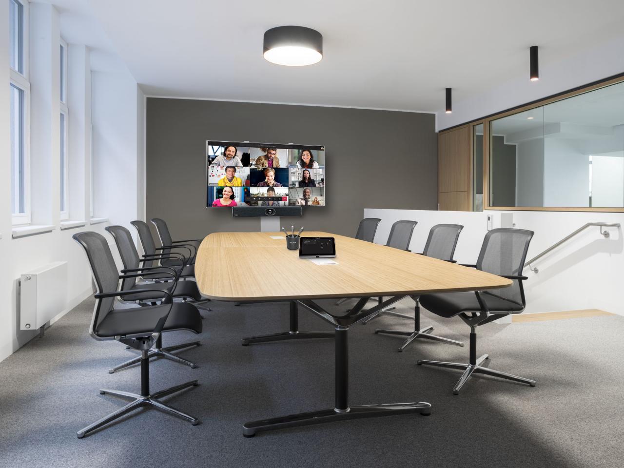 DWPRO Solution de visioconférence clé en main certifiée Microsoft Teams pour 4 à 8 personnes