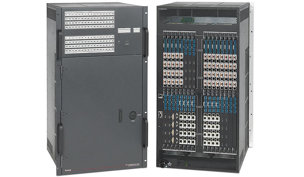 Extron XTP II CrossPoint 6400 - Grille de commutation numérique modulaire de 4x4 à 64x64 -  équipée de la technologie SpeedSwitch