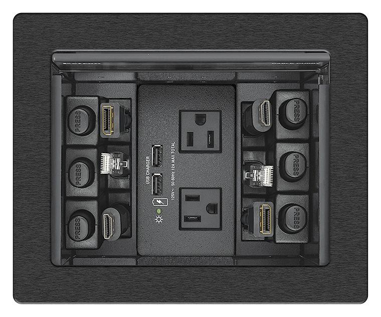 EXTRON  Extron Cable Cubby 700 - Boîtier d´accès aux câbles