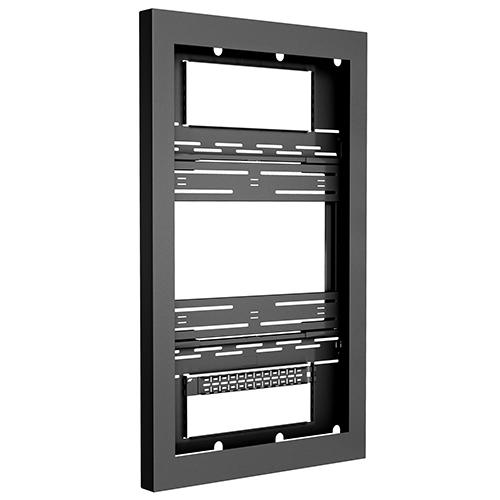 CHIEF CHIEF LWUBP - Support mural type kiosque mode portrait spécifique affichage dynamique pour écrans de 46´´ à 75´´ - Noir ou Blanc