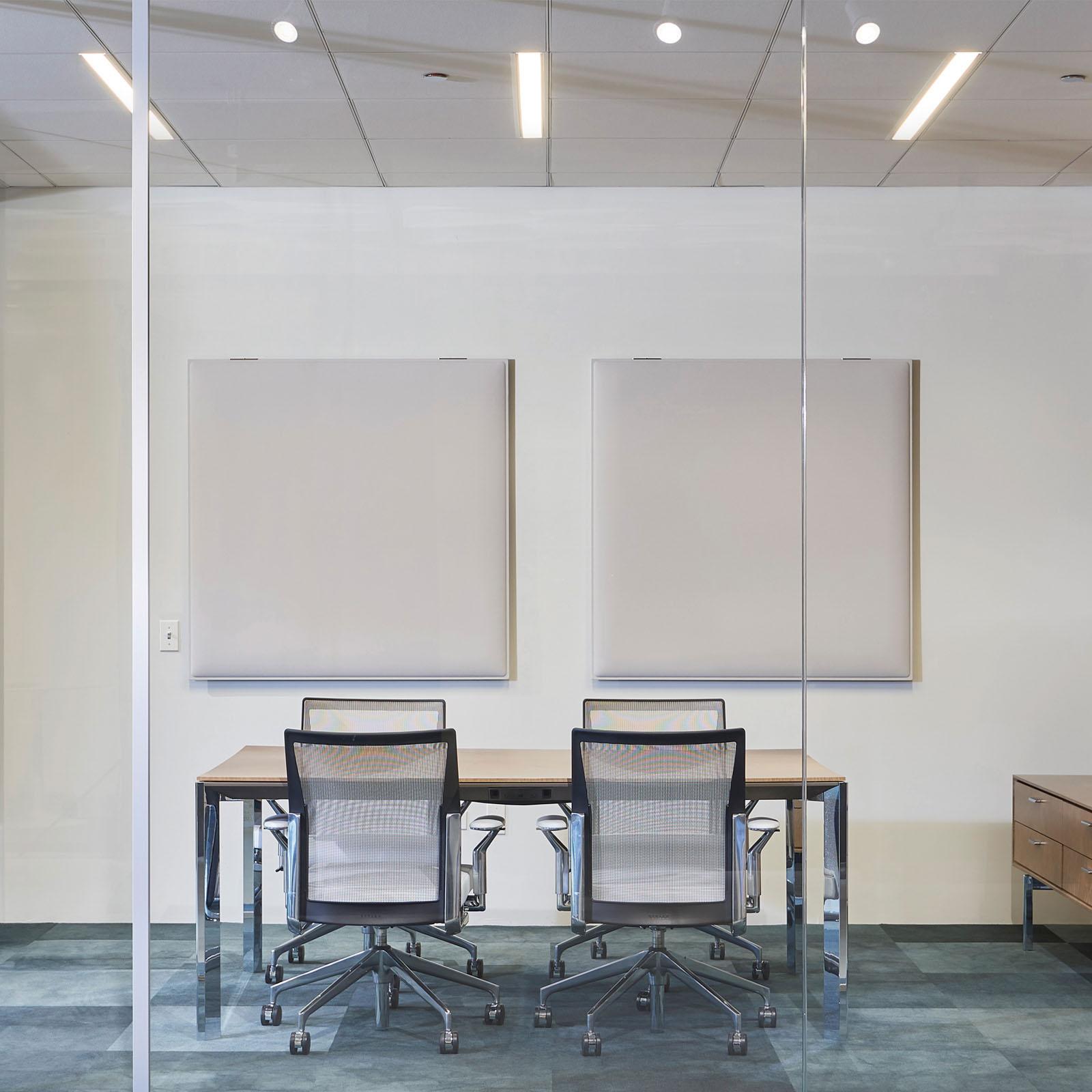 CAIMI Caimi Snowfix Wall - Gamme de panneaux acoustiques muraux