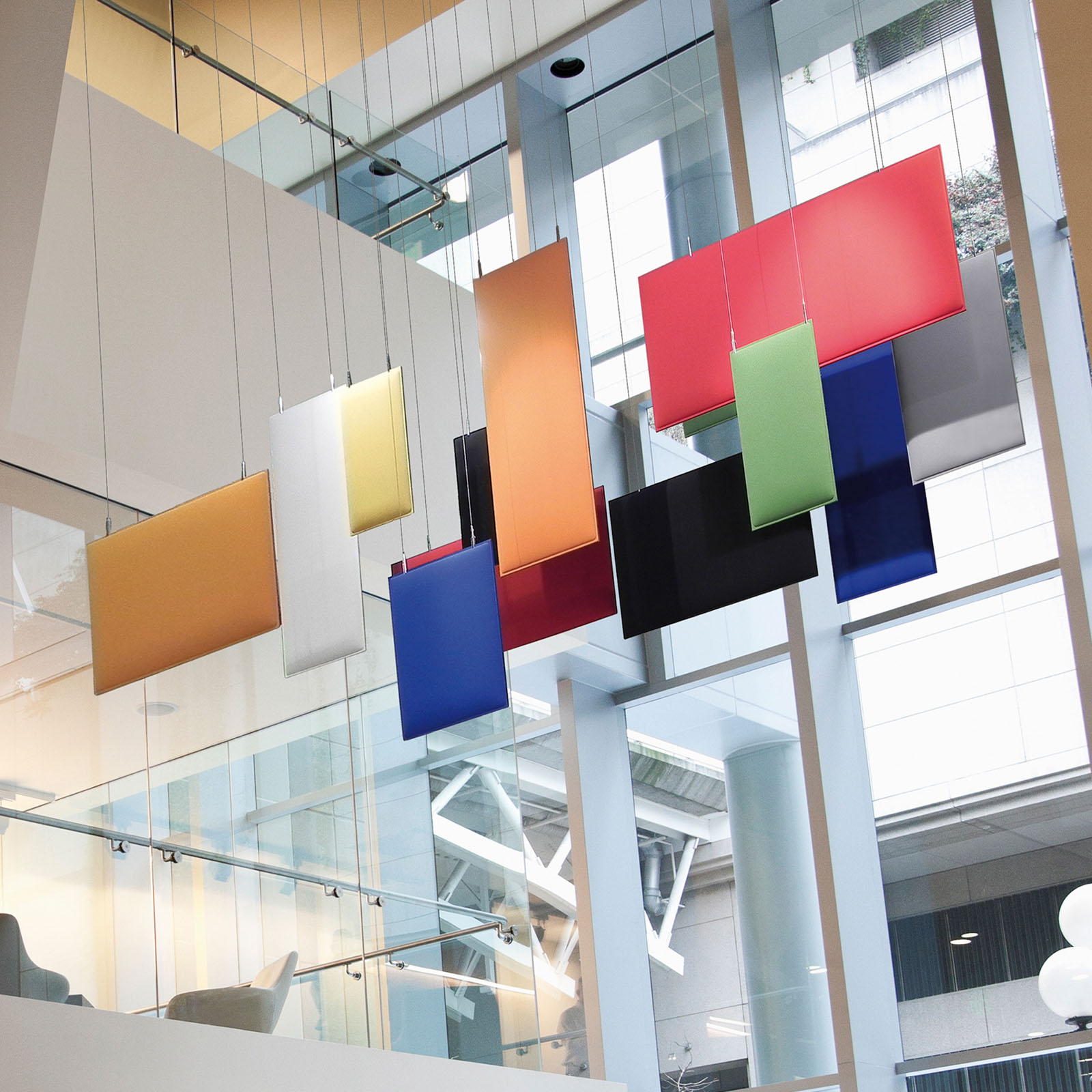 CAIMI Caimi Baffle Ceiling - Gamme de panneaux acoustiques plafond