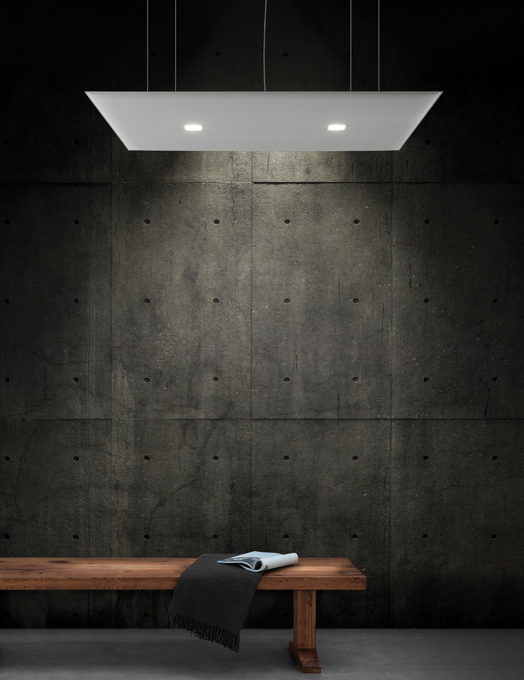 CAIMI Caimi Oversize Lux Ceiling - Gamme de panneaux acoustiques plafond lumineux