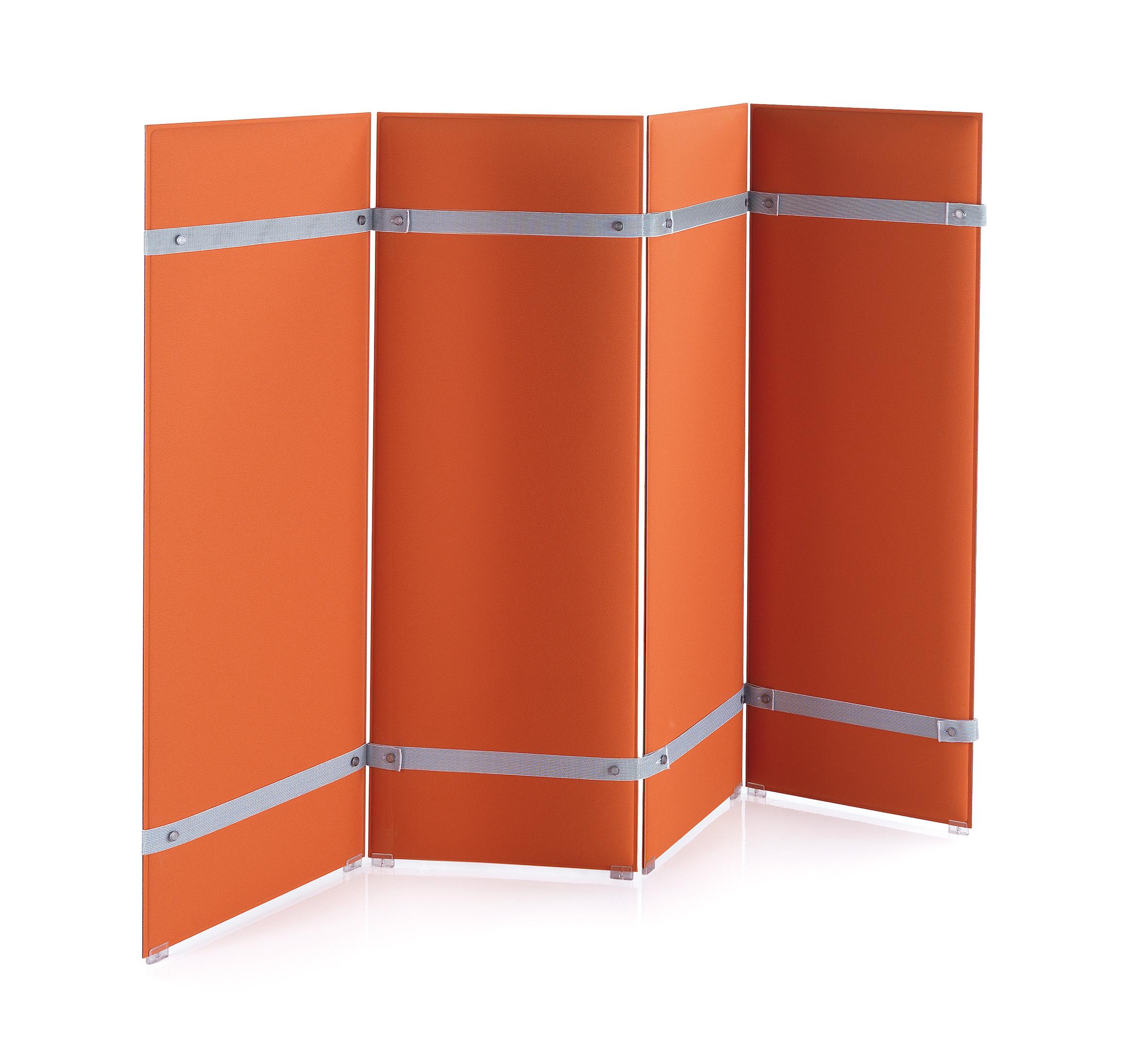 CAIMI Caimi Pli Floor - Gamme de panneaux acoustiques à poser type paravent