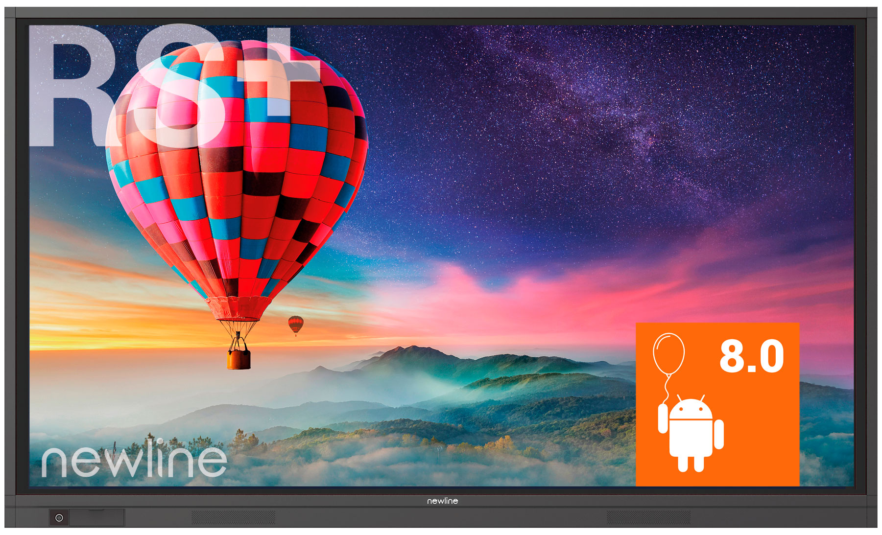 NEWLINE Newline RS+  - Ecran tactile interactif 75´´