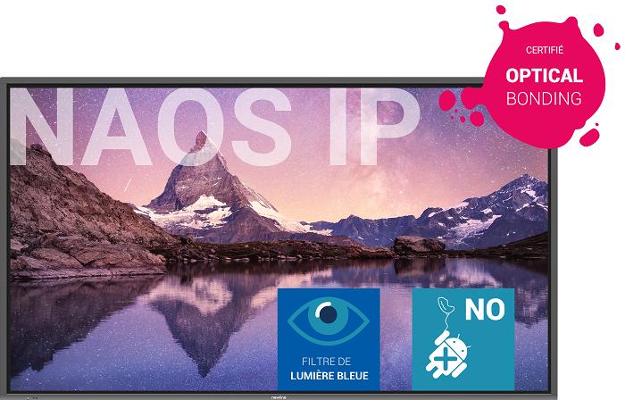 NEWLINE Newline NAOS IP - Ecran tactile interactif 86``