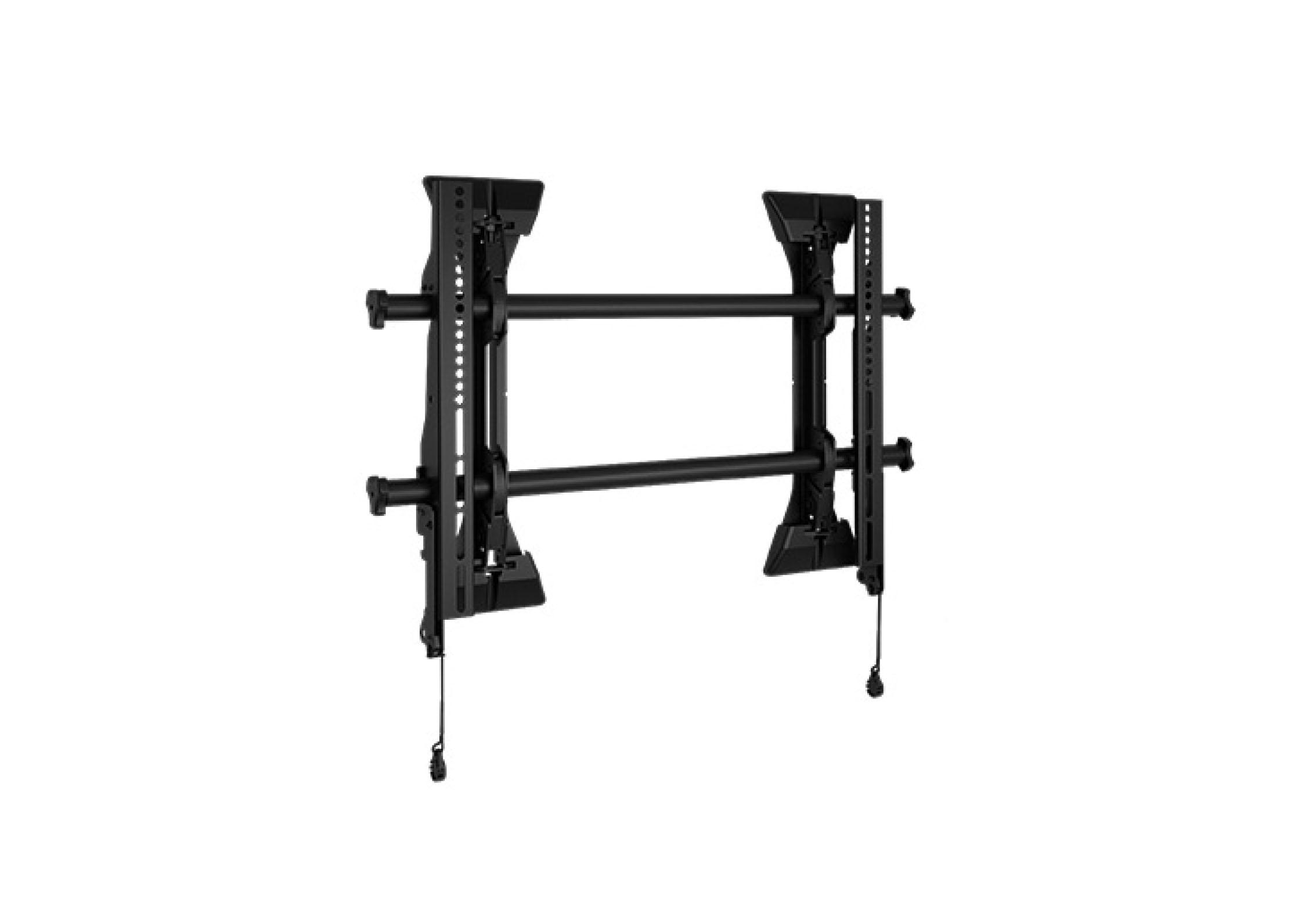 Support mural fixe 32``- 65`` Micro-adjustable - Vesa 100x100 - 650x400 mm. Charge maxi 57 kg.