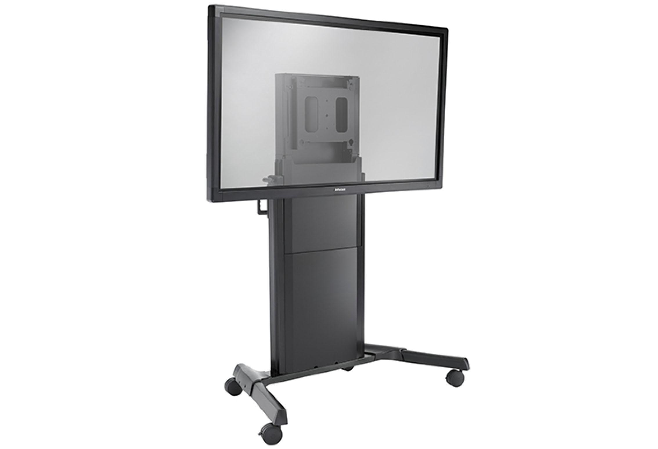 CHIEF Chief MPD1U - Fusion Dynamic Series - Support colonne mobile Medium mode paysage ajustable dynamiquement pour écrans de 30,4 à 59 kg