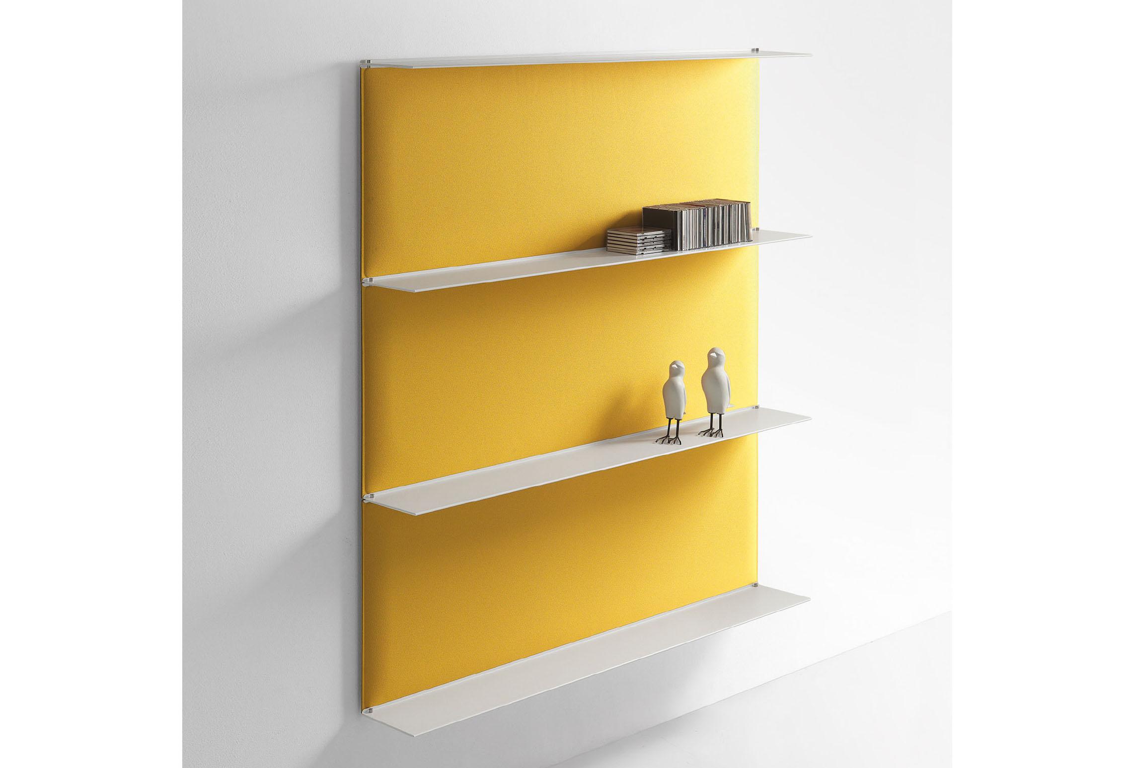 Caimi Blade Wall - Gamme de panneaux acoustiques muraux type étagère