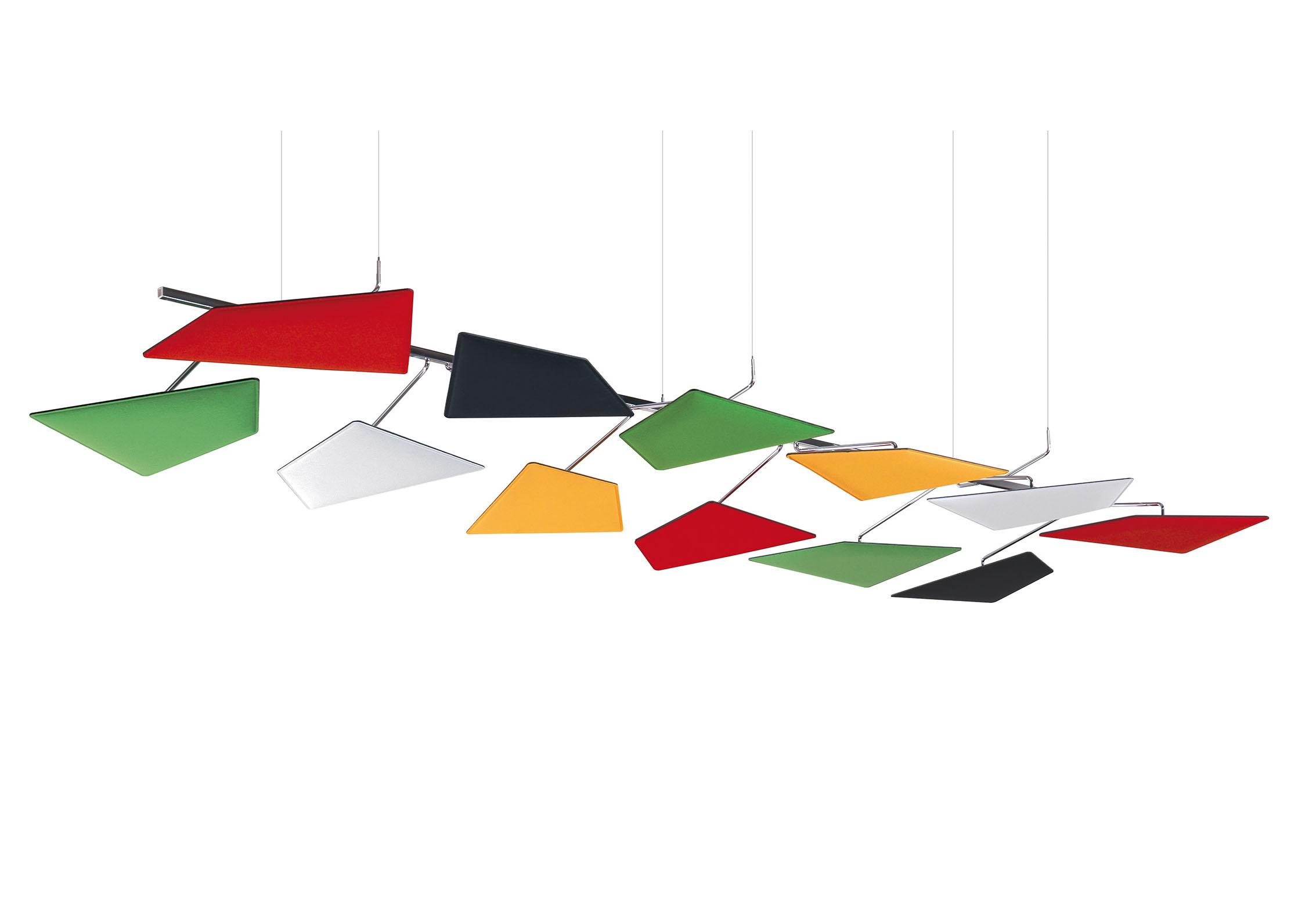 Caimi Flap Ceiling - Gamme de panneaux acoustiques plafond