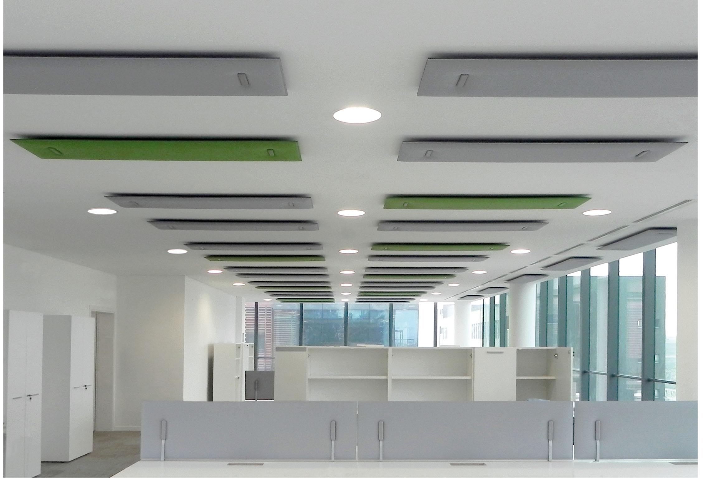 CAIMI Caimi Mitesco Ceiling - Gamme de panneaux acoustiques plafond