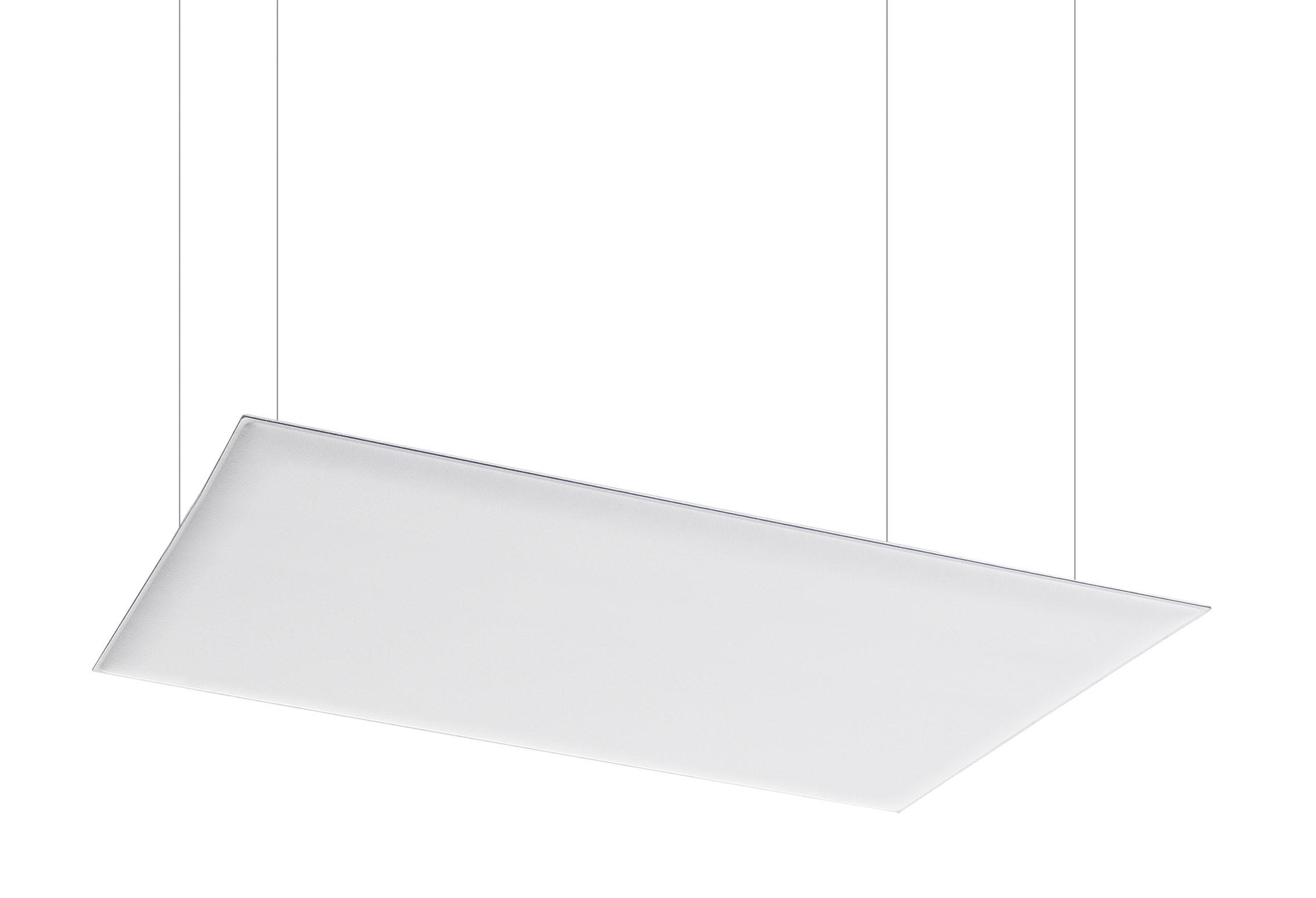 Caimi Oversize Ceiling &  Oversize Ceiling Cables - Gamme de panneaux acoustiques plafond