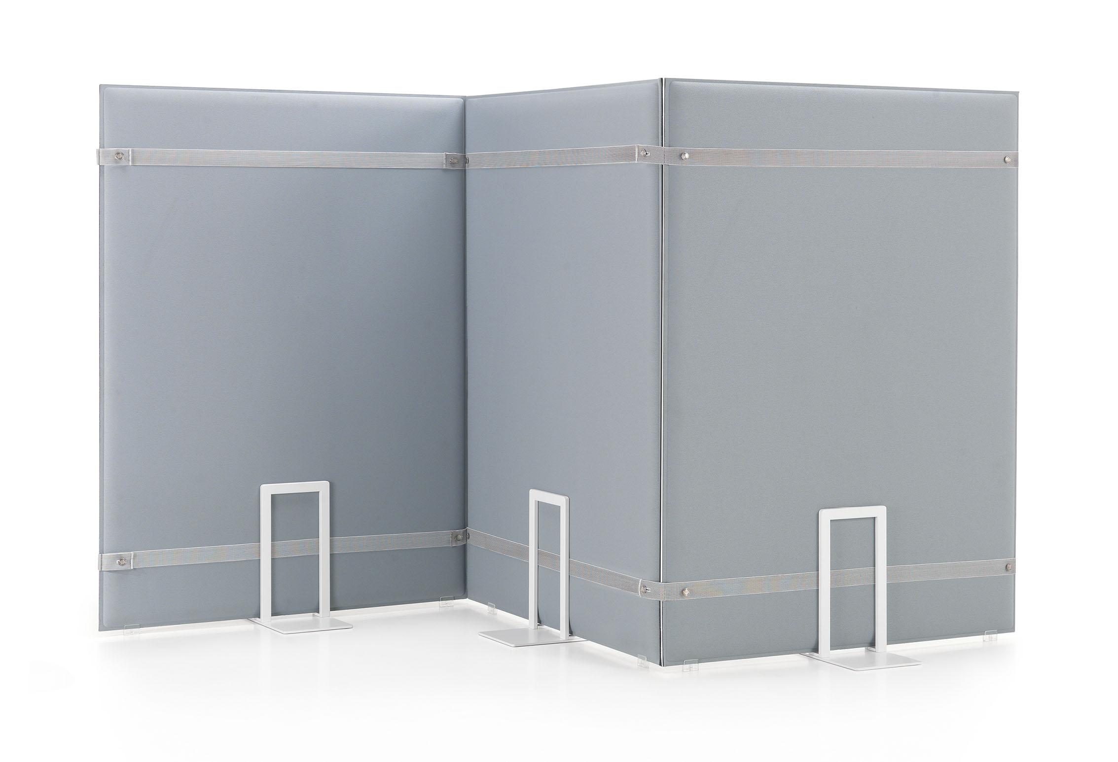 CAIMI Caimi Pli Oversize Floor - Gamme de panneaux acoustiques à poser type paravent