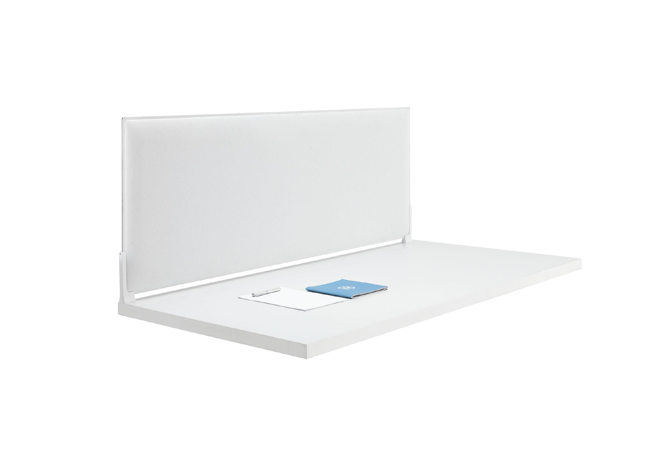Caimi Corner Desk - Gamme de panneaux acoustiques pour bureaux