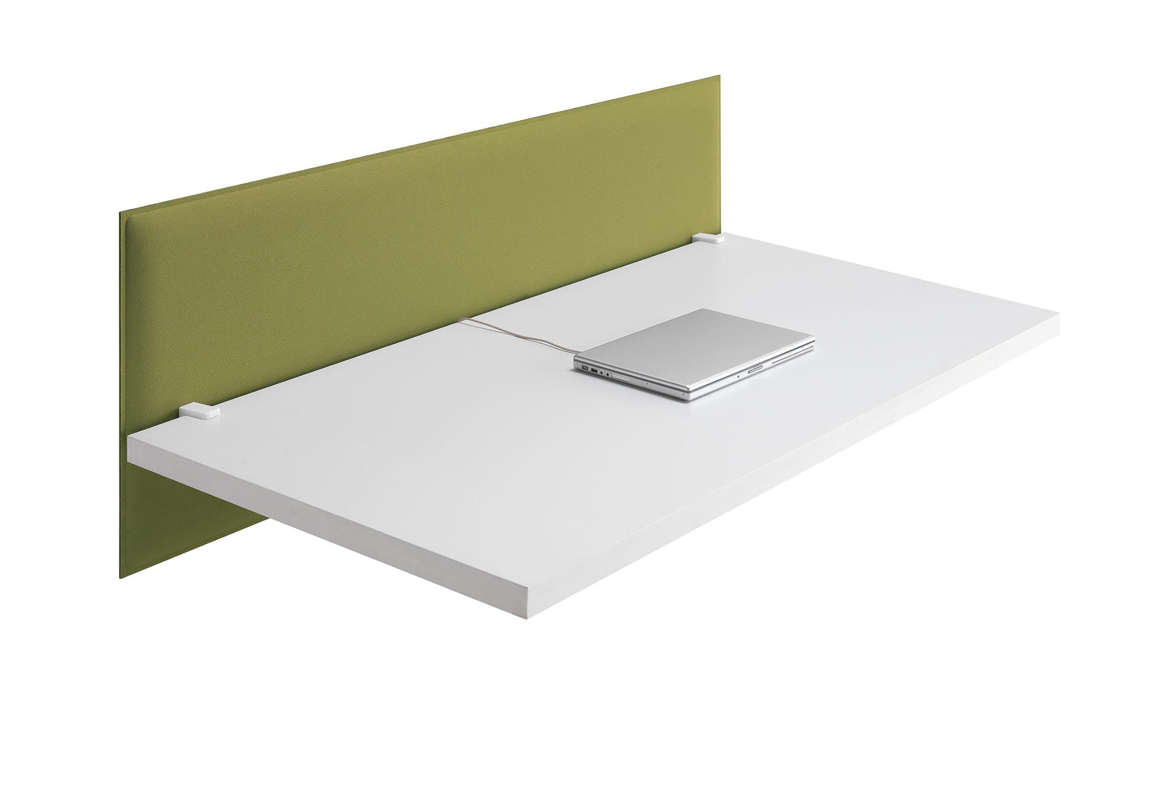 CAIMI Caimi Snowfront Desk - Gamme de panneaux acoustiques pour bureaux