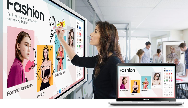 SAMSUNG FLIP 65´´ Meeting Board Digitale