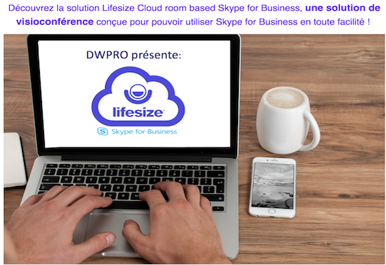 la solution Lifesize Cloud room based Skype for Business, une solution de visioconférence conçue pour pouvoir utiliser Skype for Business en toute facilité !