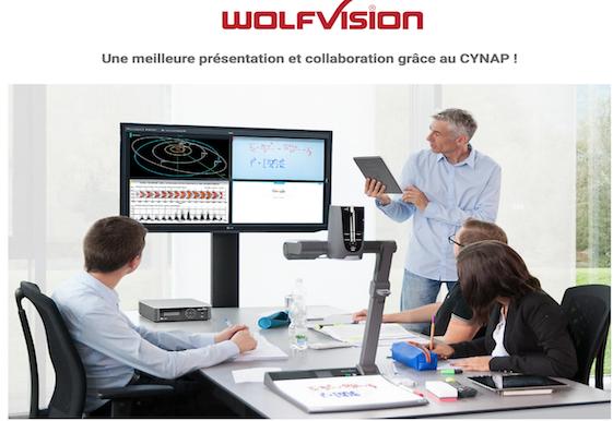 Une meilleure présentation et collaboration grâce au CYNAP !
