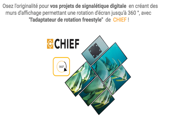 Chief-Adaptateur de rotation freestyle