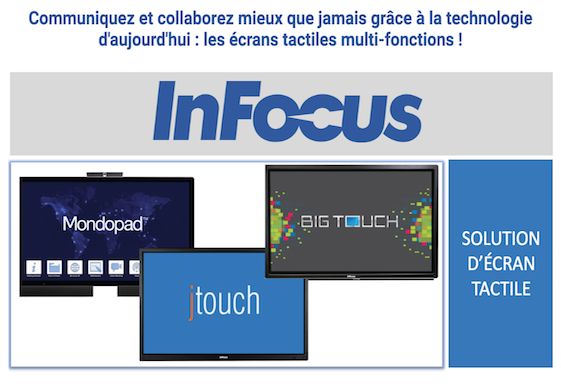 InFocus-Solution d´écran tactile