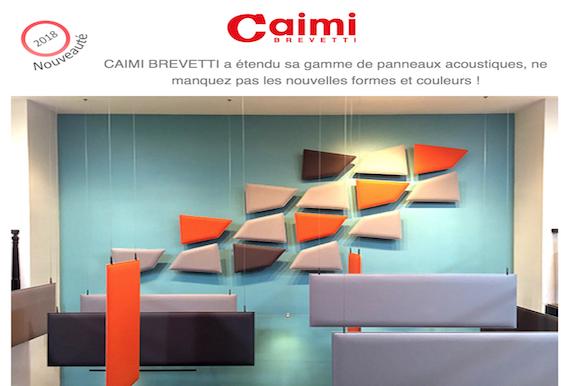 CAIMI-La gamme de panneaux acoustiques s´étoffe chez DWPRO !