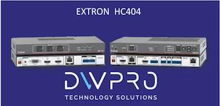 DWPRO- EXTRON HC404, un système audiovisuel puissant conçu pour vos salles de réunions ! Cliquez vite sur notre vidéo !