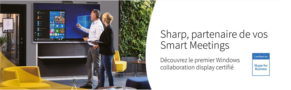 DWPRO | Sharp Windows Collaboration Display
