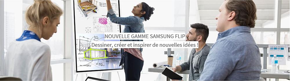 DWPRO | Nouvelle gamme de paperboard samsung flip