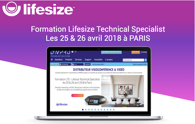 DWPRO-Formation LTS 25 & 26 Avril 2018 à Paris !