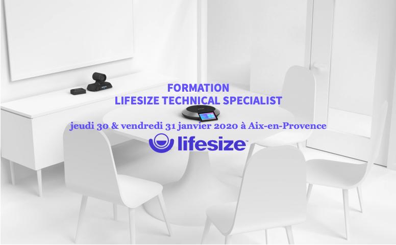 Lifesize LTS les 30 & 31 janvier 2020 à Aix-en-Provence
