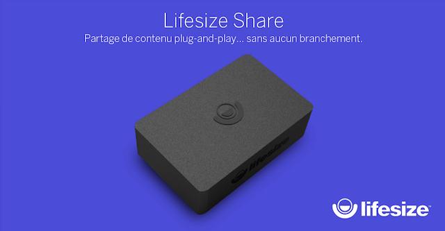 DWPRO-Découvrez Lifesize Share, la solution de partage de contenu sans fil !