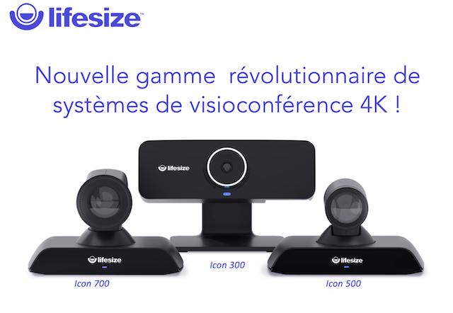 Lifesize - Découvrez la nouvelle gamme révolutionnaire de systèmes de visioconférence 4K !