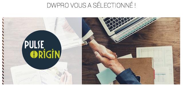 DWPRO | Vous a sélectionné !