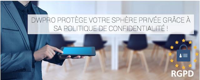 DWPRO | Nouvelle politique de confidentialité !