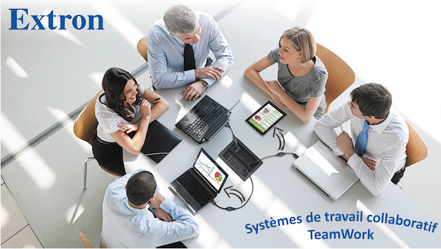 DWPRO-Extron : découvrez les systèmes de travail collaboratif TeamWork !
