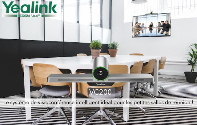 DWPRO | YEALINK VC200 : un système de visioconférence idéal pour les petites salles de réunion !