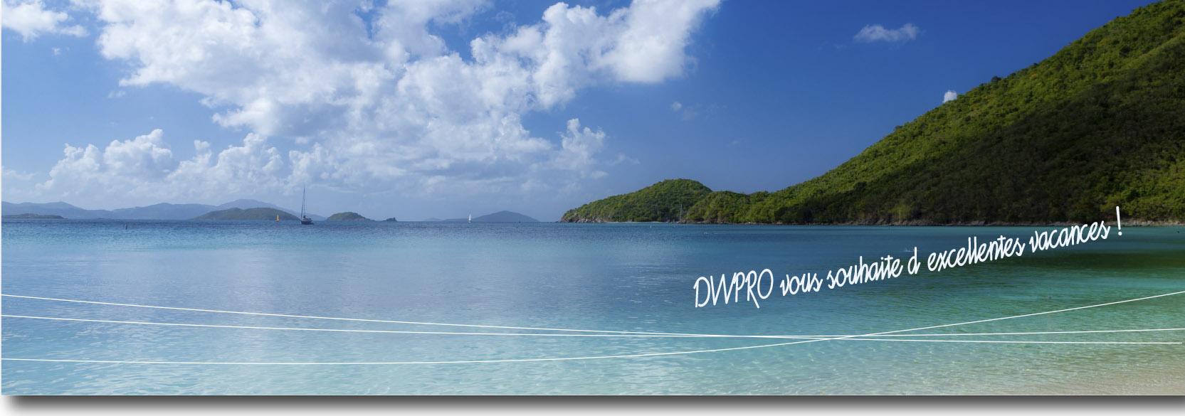 DWPro vous souhaite d´excellentes vacances !